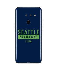 Seattle Seahawks Blue Performance Series LG G8 ThinQ Skin