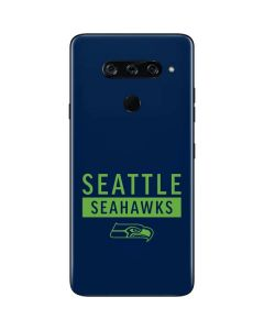Seattle Seahawks Blue Performance Series LG V40 ThinQ Skin