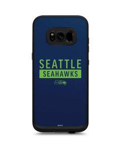 Seattle Seahawks Blue Performance Series LifeProof Fre Galaxy Skin