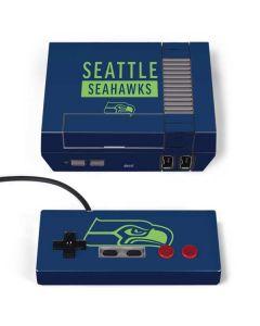 Seattle Seahawks Blue Performance Series NES Classic Edition Skin