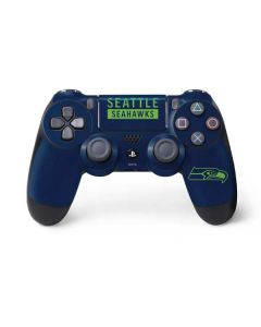 Seattle Seahawks Blue Performance Series PS4 Pro/Slim Controller Skin