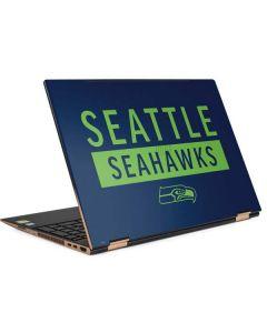 Seattle Seahawks Blue Performance Series HP Spectre Skin