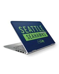 Seattle Seahawks Blue Performance Series HP Stream Skin