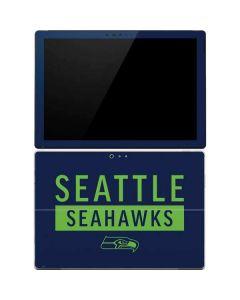 Seattle Seahawks Blue Performance Series Surface Pro 4 Skin