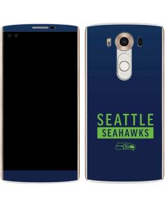 Seattle Seahawks Blue Performance Series V10 Skin