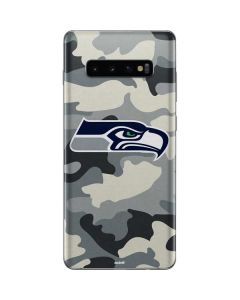 Seattle Seahawks Camo Galaxy S10 Plus Skin