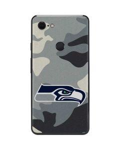 Seattle Seahawks Camo Google Pixel 3 XL Skin