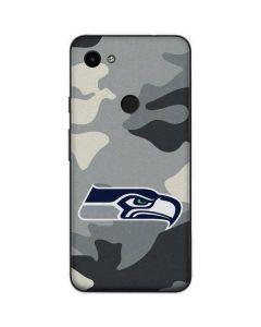 Seattle Seahawks Camo Google Pixel 3a Skin