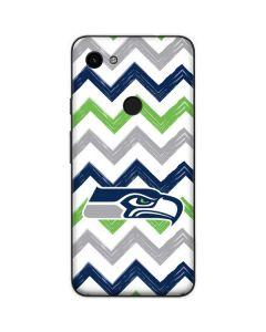 Seattle Seahawks Chevron Google Pixel 3a Skin