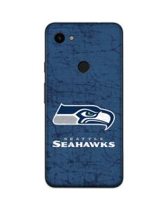 Seattle Seahawks Distressed Google Pixel 3a Skin