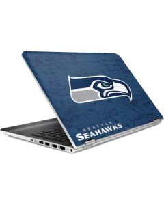 Seattle Seahawks Distressed HP Pavilion Skin