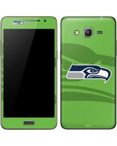 Seattle Seahawks Double Vision Galaxy Grand Prime Skin