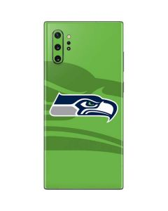 Seattle Seahawks Double Vision Galaxy Note 10 Plus Skin