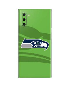 Seattle Seahawks Double Vision Galaxy Note 10 Skin