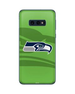 Seattle Seahawks Double Vision Galaxy S10e Skin