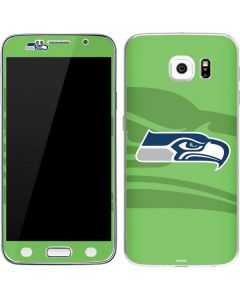 Seattle Seahawks Double Vision Galaxy S6 Skin