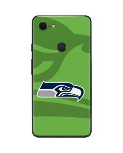 Seattle Seahawks Double Vision Google Pixel 3 XL Skin
