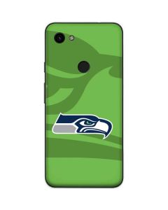 Seattle Seahawks Double Vision Google Pixel 3a Skin