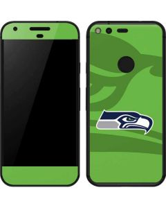 Seattle Seahawks Double Vision Google Pixel Skin