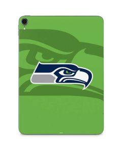 Seattle Seahawks Double Vision Apple iPad Pro Skin