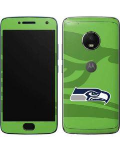 Seattle Seahawks Double Vision Moto G5 Plus Skin