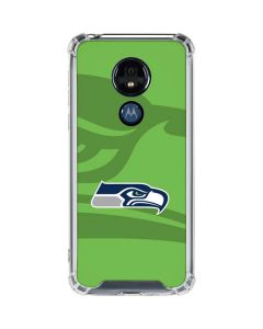 Seattle Seahawks Double Vision Moto G7 Power Clear Case