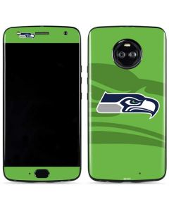 Seattle Seahawks Double Vision Moto X4 Skin