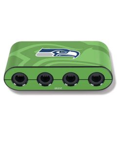 Seattle Seahawks Double Vision Nintendo GameCube Controller Adapter Skin