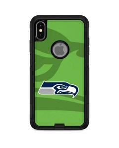 Seattle Seahawks Double Vision Otterbox Commuter iPhone Skin