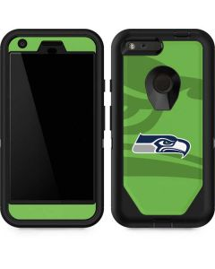 Seattle Seahawks Double Vision Otterbox Defender Pixel Skin