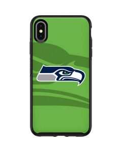 Seattle Seahawks Double Vision Otterbox Symmetry iPhone Skin