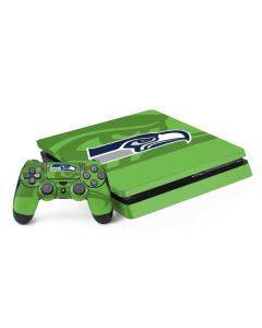 Seattle Seahawks Double Vision PS4 Slim Bundle Skin