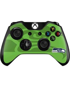Seattle Seahawks Double Vision Xbox One Controller Skin