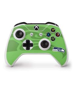 Seattle Seahawks Double Vision Xbox One S Controller Skin