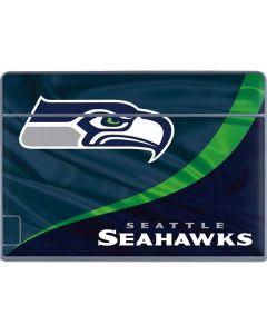 Seattle Seahawks Galaxy Book Keyboard Folio 12in Skin