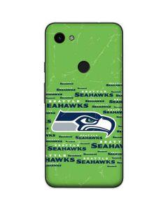 Seattle Seahawks Green Blast Google Pixel 3a Skin