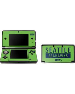 Seattle Seahawks Green Performance Series 3DS (2011) Skin