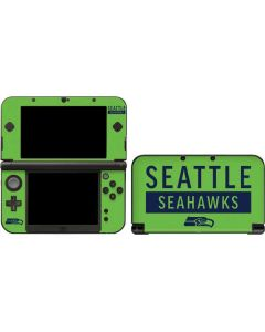 Seattle Seahawks Green Performance Series 3DS XL 2015 Skin