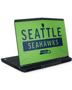 Seattle Seahawks Green Performance Series Dell Alienware Skin