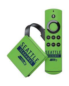 Seattle Seahawks Green Performance Series Amazon Fire TV Skin