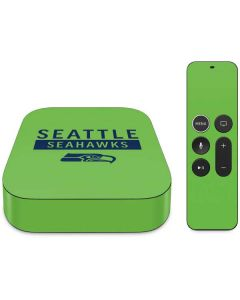 Seattle Seahawks Green Performance Series Apple TV Skin