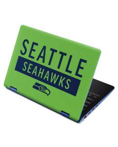 Seattle Seahawks Green Performance Series Aspire R11 11.6in Skin