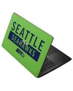 Seattle Seahawks Green Performance Series Asus X502CA 15.6 Skin