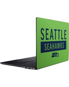 Seattle Seahawks Green Performance Series Ativ Book 9 (15.6in 2014) Skin