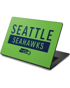 Seattle Seahawks Green Performance Series Dell Chromebook Skin