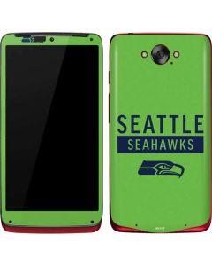 Seattle Seahawks Green Performance Series Motorola Droid Skin