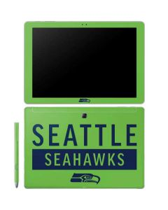 Seattle Seahawks Green Performance Series Galaxy Book 10.6in Skin