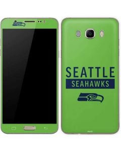 Seattle Seahawks Green Performance Series Galaxy J7 Skin