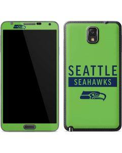 Seattle Seahawks Green Performance Series Galaxy Note 3 Skin