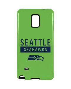 Seattle Seahawks Green Performance Series Galaxy Note 4 Pro Case